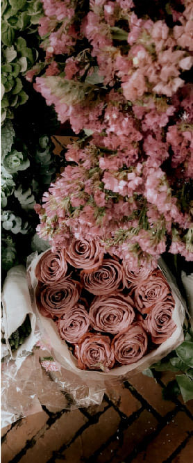 Barbie flores