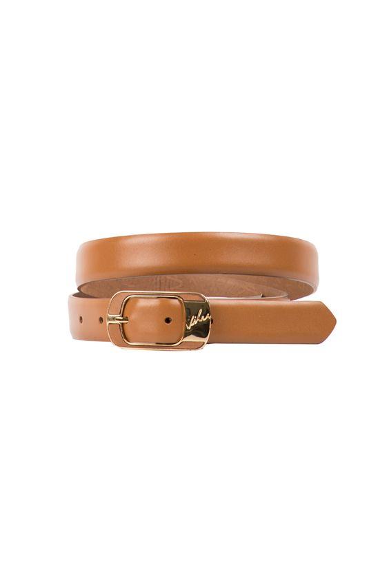 81bff7301c8bf Cinturón unifaz de cuero para mujer 9789