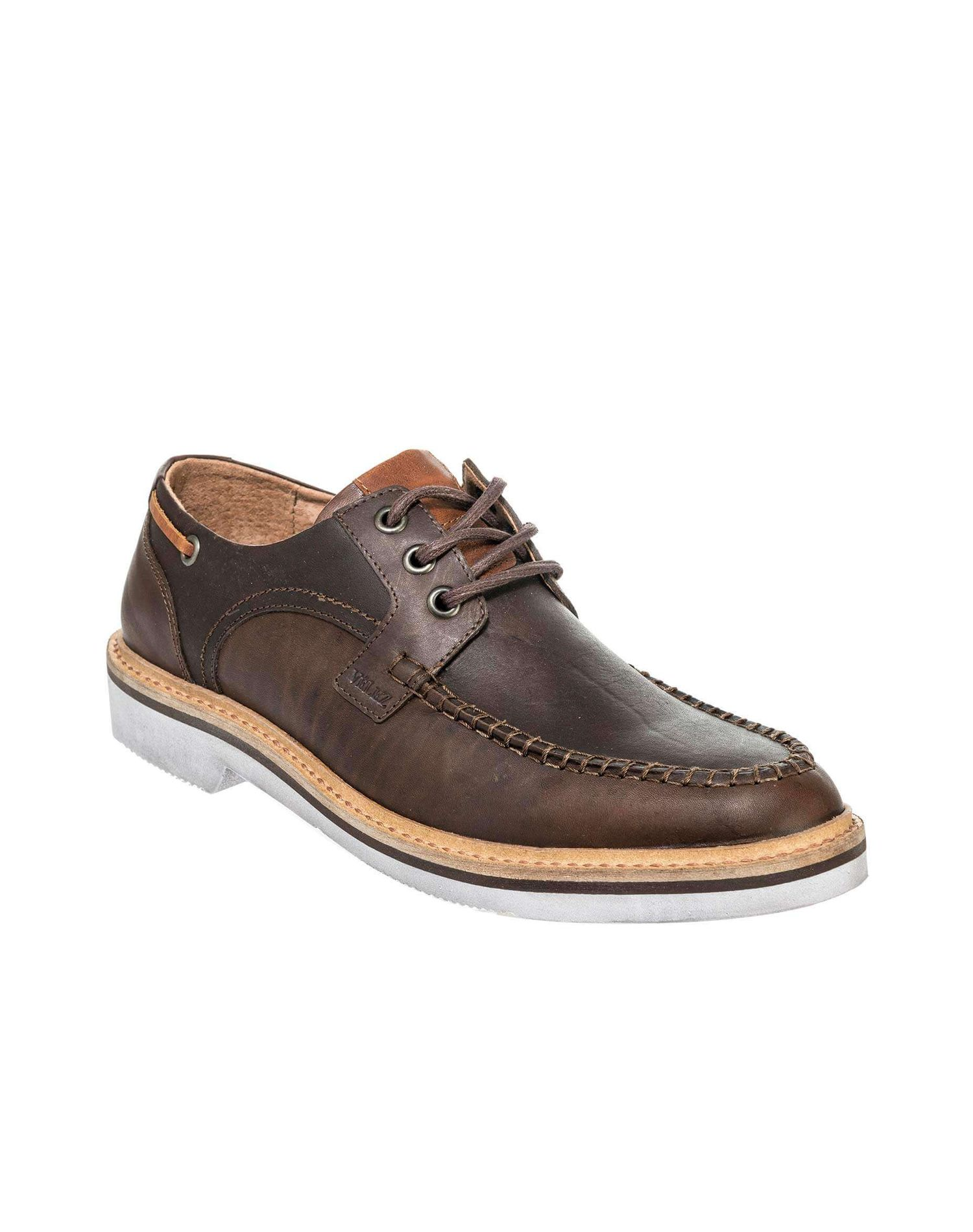 Zapatos De Cuero 11311 Cordones Con Para Cordón Hombre qqaZp