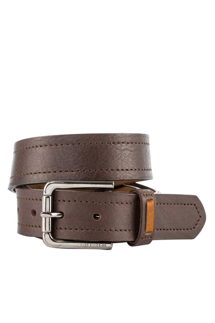 c7ca260d9c19c Cinturón unifaz de cuero para hombre 11984