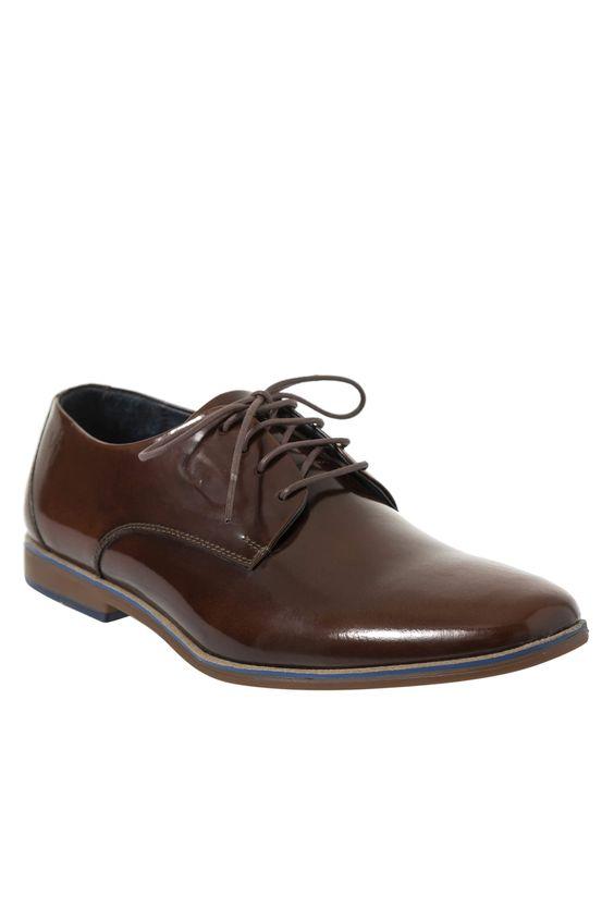 Zapatos-con-cordon-de-cuero-para-hombre ... 0e96192a9f