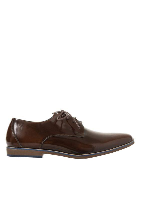 b133ff60912d8 ... Zapatos-con-cordon-de-cuero-para-hombre