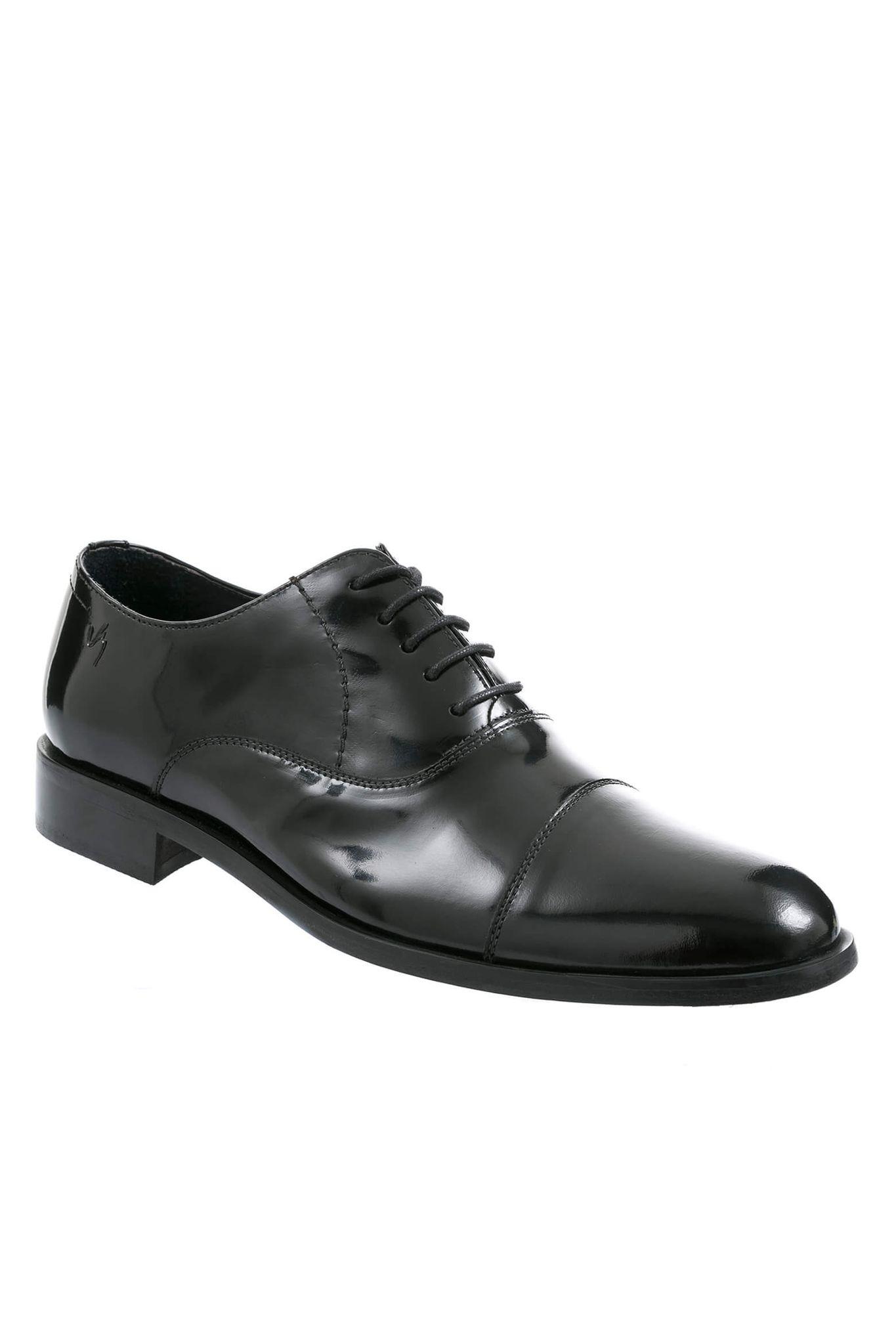 c711d567d05de Zapatos de cuero con cordón para hombre 10836