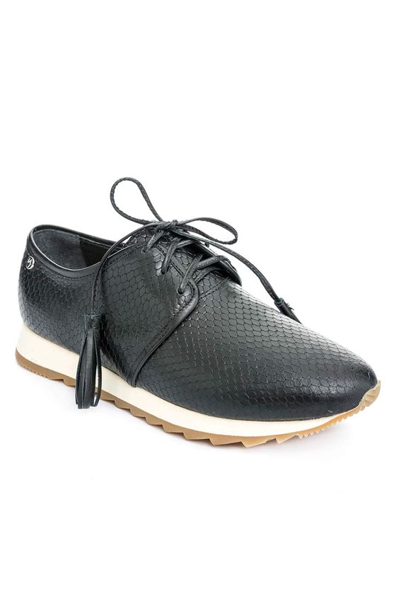 Zapatos-de-cuero-con-cordonpara-mujer ... 8c19ca15f1d2