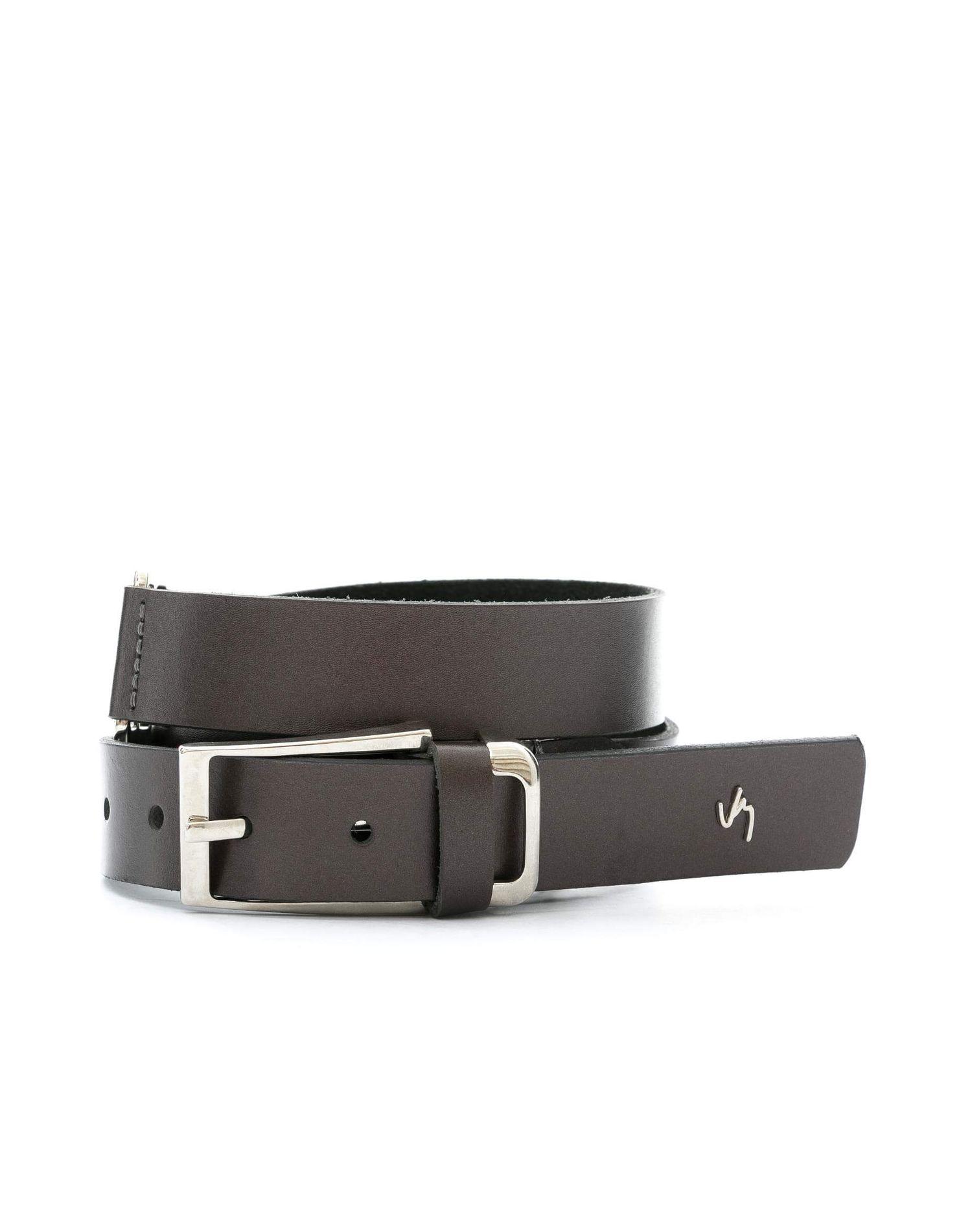 f3a3866ce367f Cinturón unifaz de cuero para mujer 13574