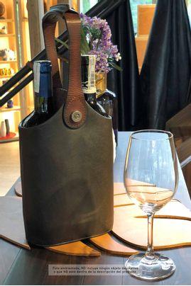 Porta-vinos-doble