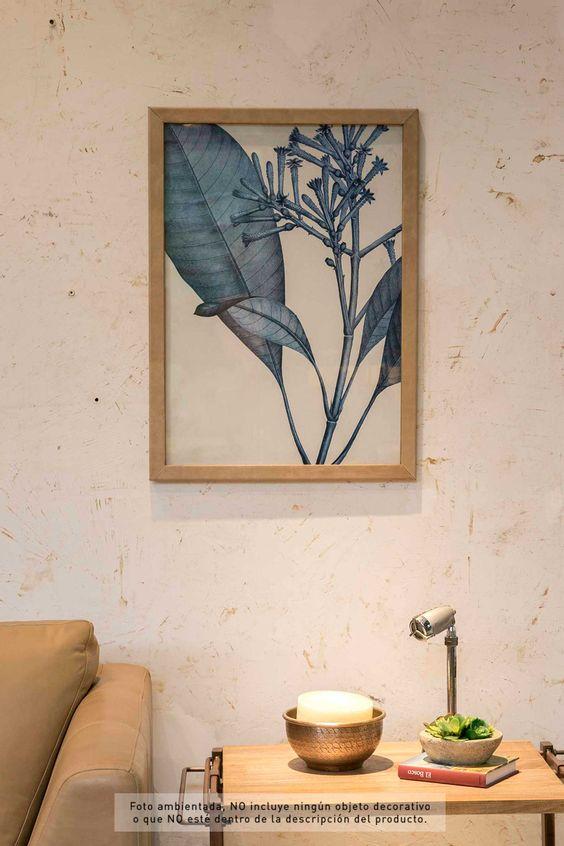 Cuadro-ilustracion-hojas