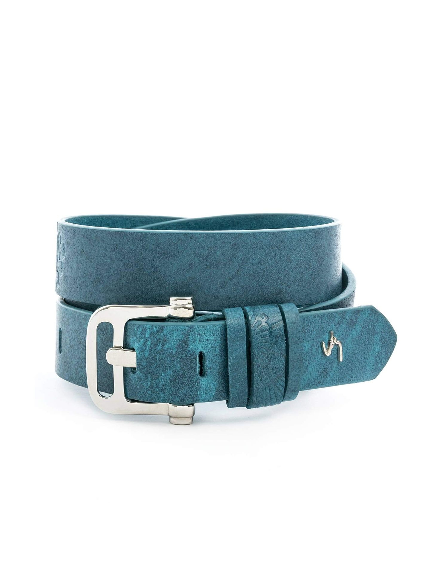 5d21961814d42 Cinturón unifaz de cuero para mujer 18803