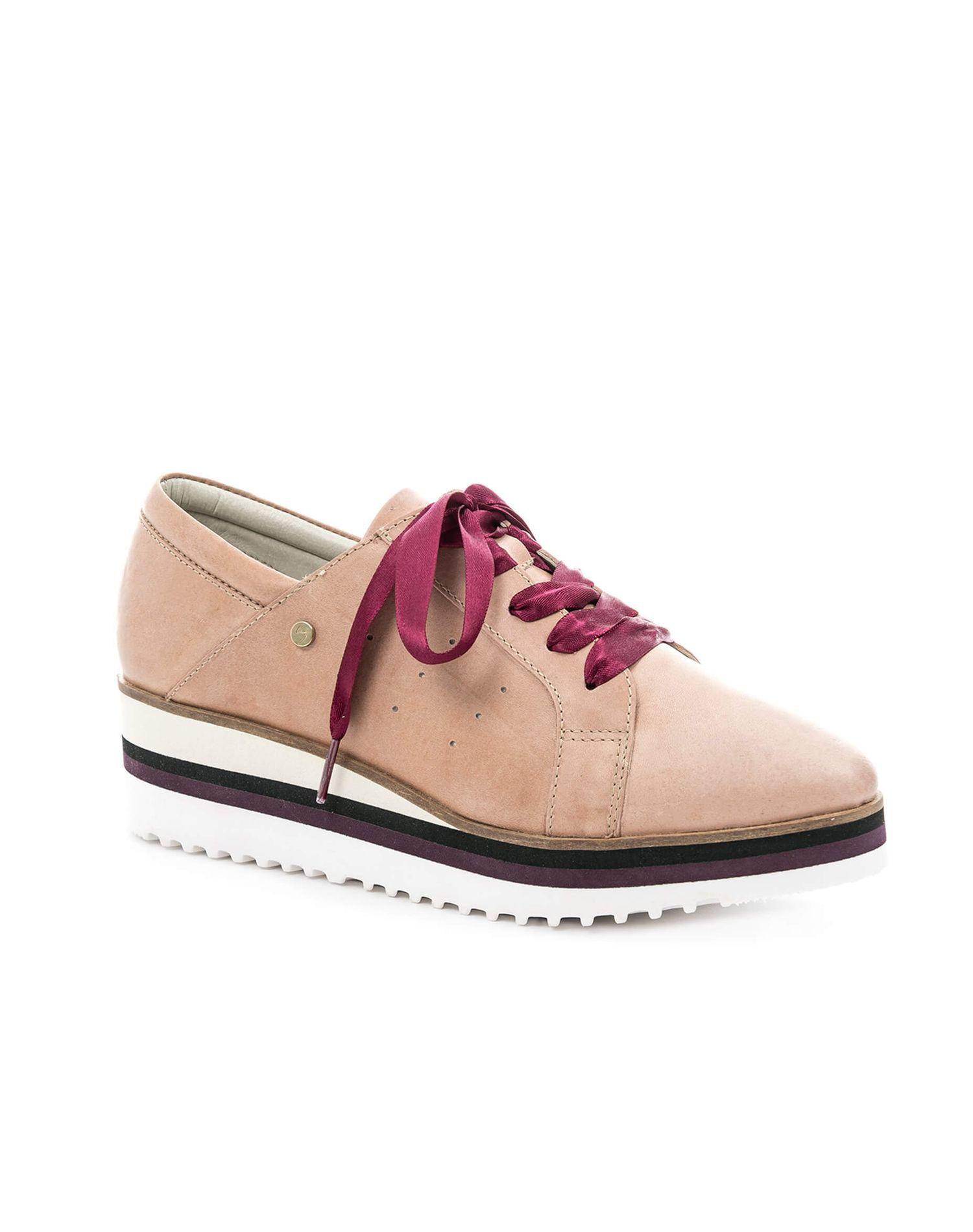 Zapatos de cuero con cordón para cordones mujer 21045 Con cordones para Vélez 9b2542