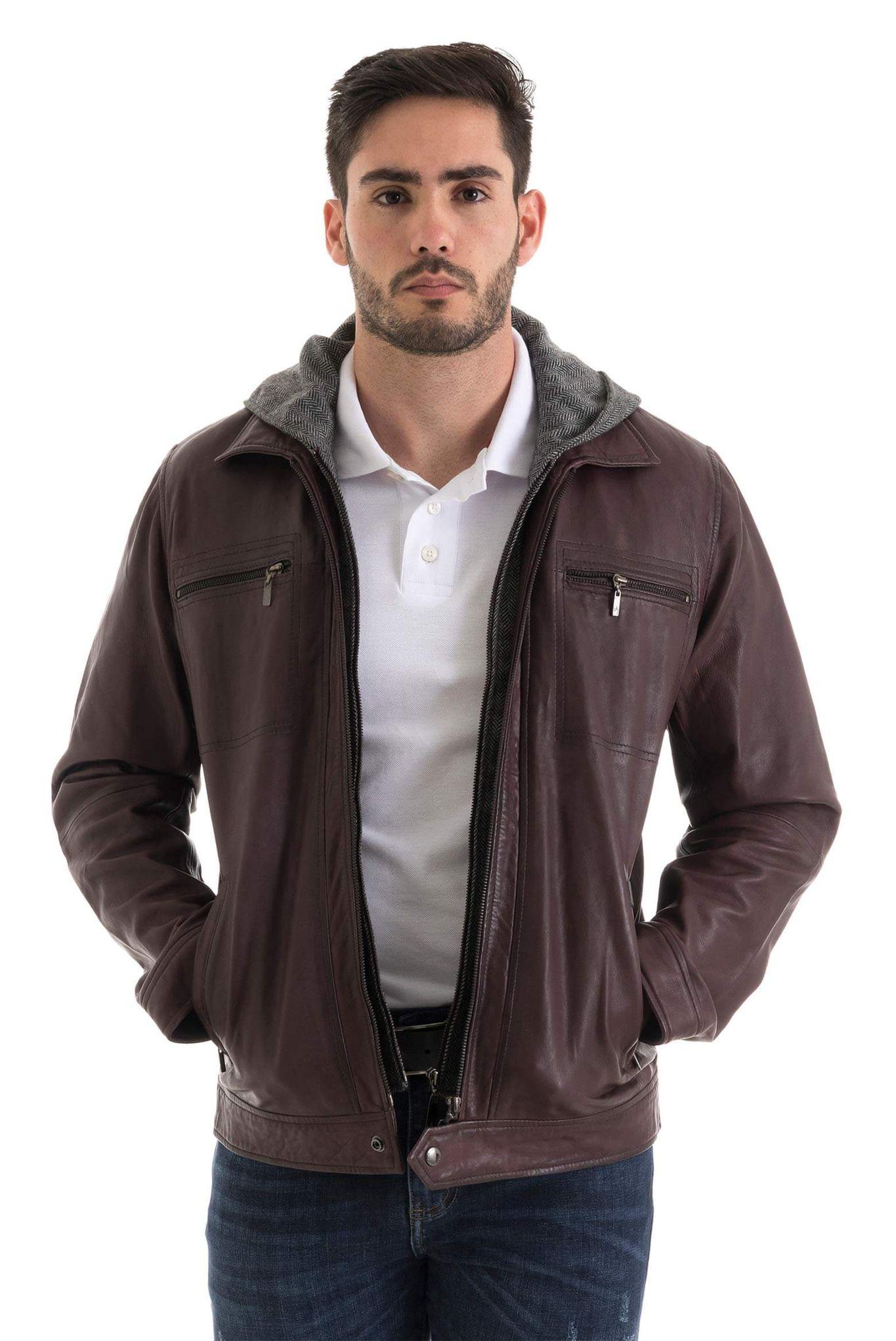 Compra barato hombres de la chaqueta de cuero online al