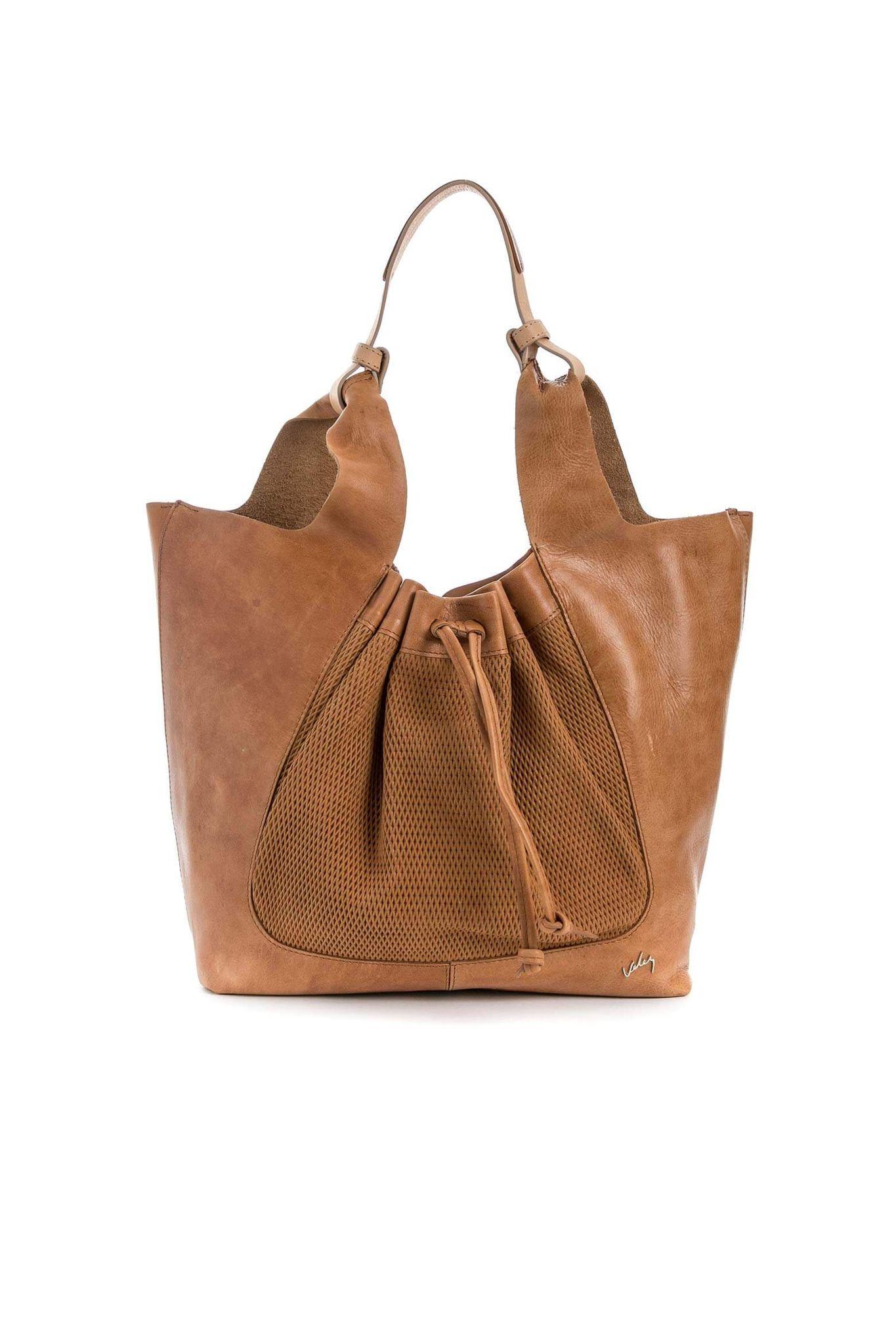 b0c5a92609c Bolso shopping de cuero para mujer 21806
