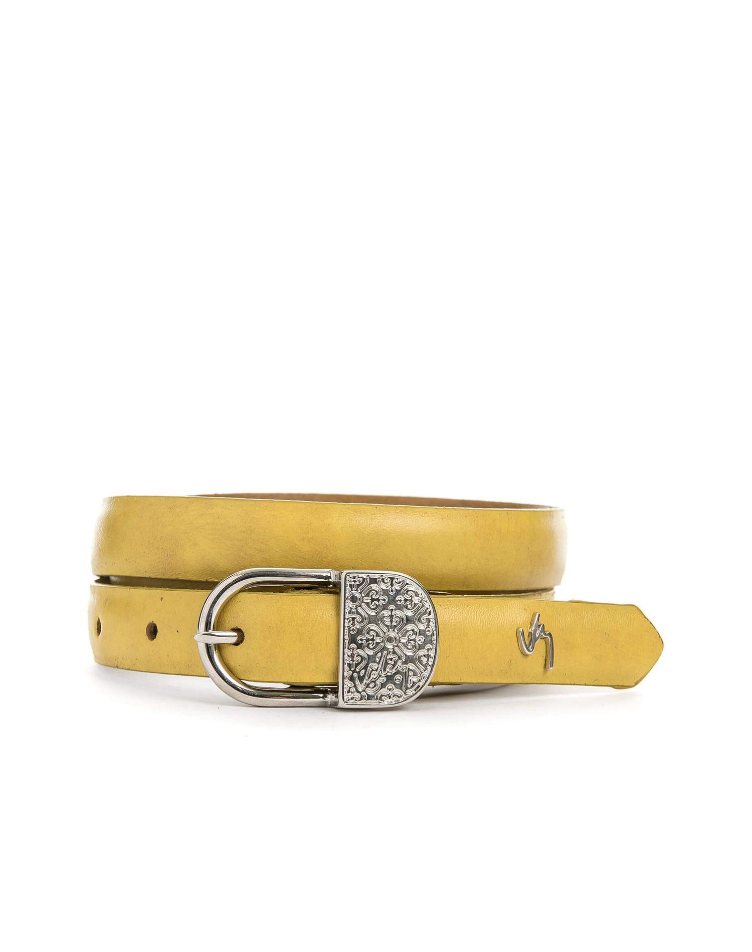 3caa130a7e4bb Cinturón unifaz de cuero para mujer 21823