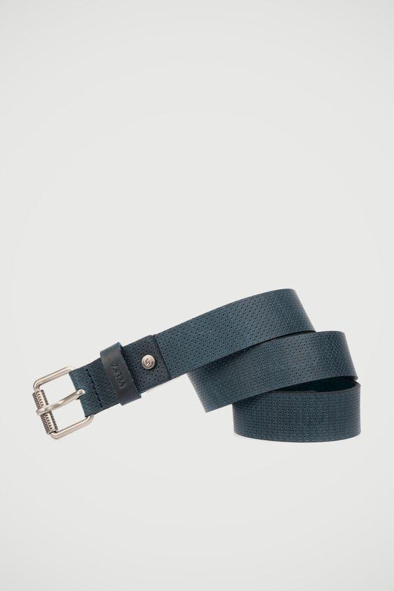4147230a Cinturones para Hombres en 100% Cuero | Vélez