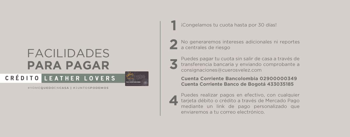 Información Crédito Leather Lovers